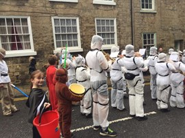 Intermediate Band, Knaresborough Bed Race 2017