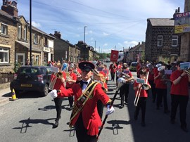 Intermediate Band, Otley Carnival 2017